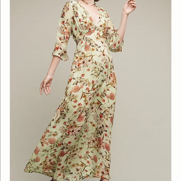 d0de5ca11f2 Anthropologie Ghost London Madrid Maxi Dress